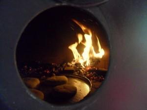Pizza-peć, detalj